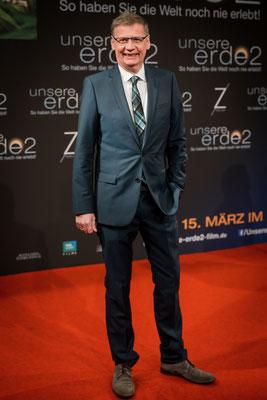 """Günther Jauch bei der Filmpremiere von """"Unsere Erde 2"""" im Zoo Palast Berlin, Foto: Dirk Pagels"""