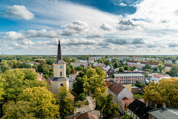 Die St. Andreaskirche Teltow, Foto: Dirk Pagels