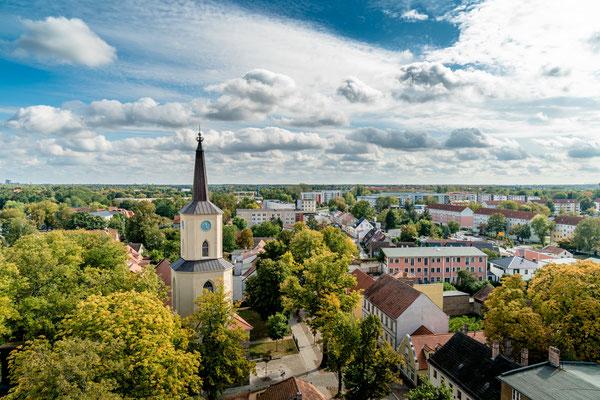 Die St. Andreaskirche Teltow, Foto: Dirk Pagels, Teltow