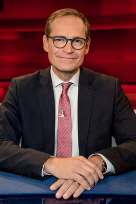 Regierender Bürgermeister von Berlin Michael Müller, Foto: Dirk Pagels, Teltow