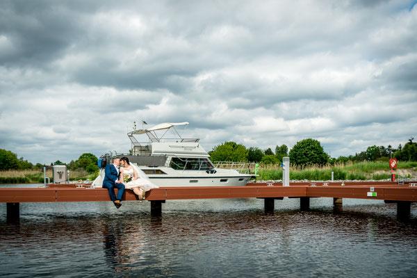 Hochzeit am Stadthafen/Marina Teltow 2019, Foto: Dirk Pagels
