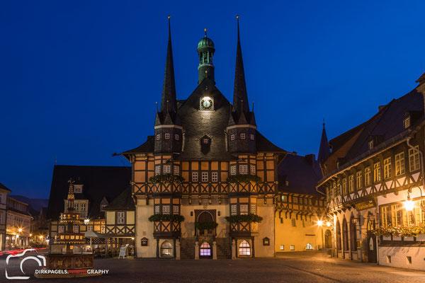 Marktplatz Wernigerode, Foto: Dirk Pagels, Teltow