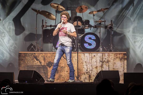 Atze Schröder am 20.01.2018 im Berliner Tempodrom, Foto: Dirk Pagels