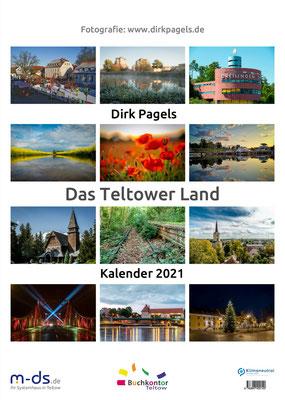 Jahreskalender 2021 aus der Region Teltow, Kleinmachnow, Stahnsdorf, Foto: Dirk Pagels, Teltow