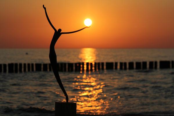 Sonnenuntergang in Zingst, Foto: Dirk Pagels, Teltow