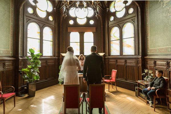 Hochzeit im März 2017, Berlin Neukölln Foto: Dirk Pagels