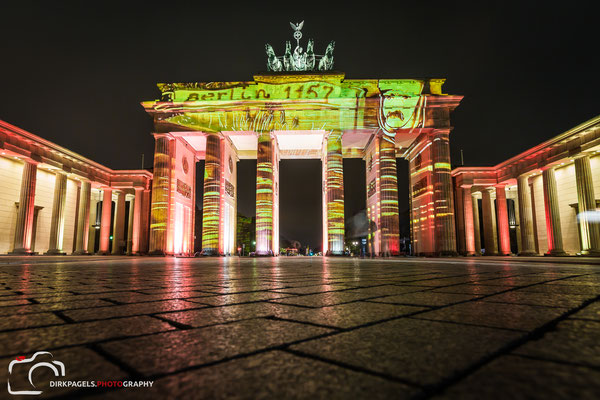 Brandenburger Tor, Festival of Lights 2016, Foto: Dirk Pagels, Teltow