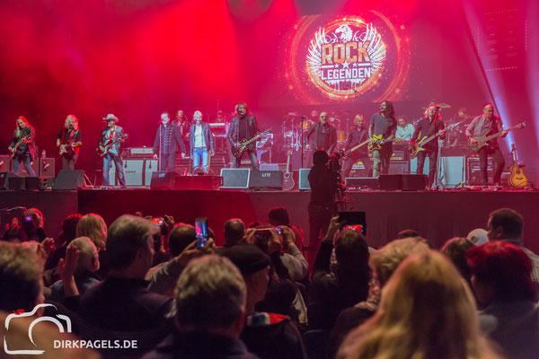 Die Rocklegenden am 05.01.2018 in der Mercedes Benz Arena, Foto: Dirk Pagels, Teltow