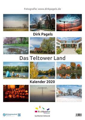 Jahreskalender 2020 aus der Region Teltow, Kleinmachnow, Stahnsdorf, Foto: Dirk Pagels