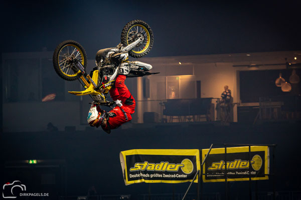 Kai Haase bei den Night of the Jumps 2020, Mercedes-Benz Arena Berlin, Foto: Dirk Pagels, Teltow