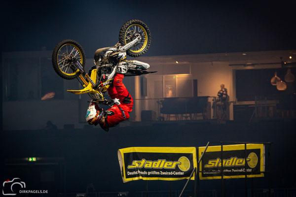 Kai Haase bei den Night of the Jumps 2020, Mercedes-Benz Arena Berlin, Foto: Dirk Pagels, Teltow