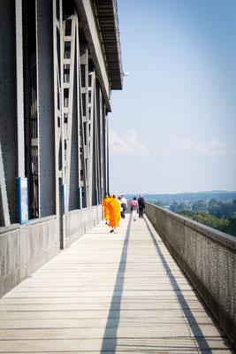 Der Weg ist das Ziel... Schiffshebewerk Niederfinow, Foto: Dirk Pagels, Teltow
