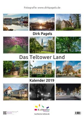 Jahreskalender 2019 aus der Region Teltow, Kleinmachnow, Stahnsdorf, Foto: Dirk Pagels, Teltow
