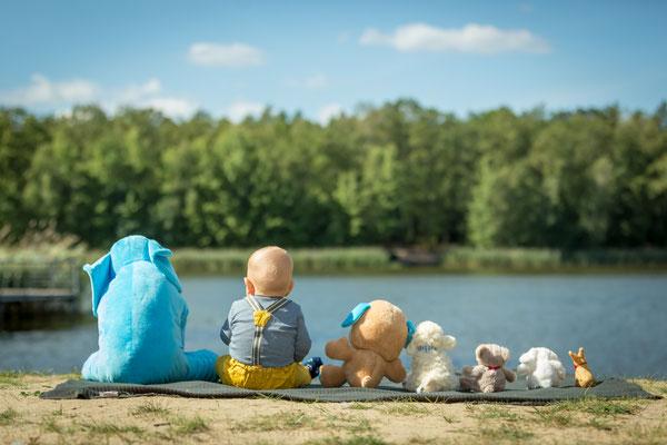 Babyshooting am See, Foto: Dirk Pagels
