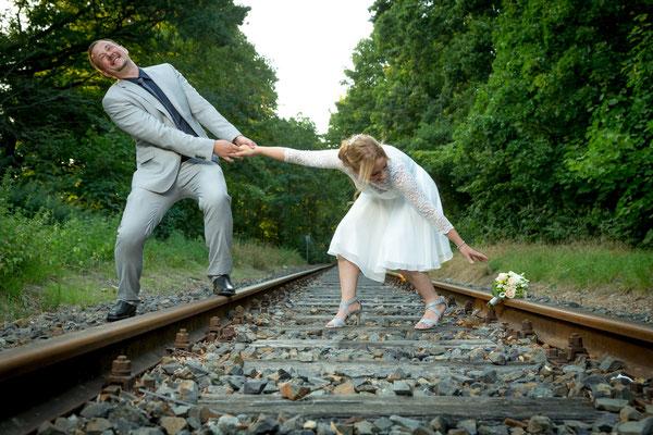 Der Zug kommt, Foto: Dirk Pagels
