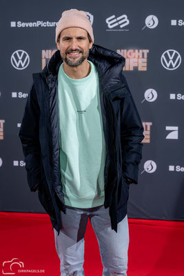 Tom Beck bei der Filmpremiere Nightlife am 04.02.2020 im Berliner Zoo Palast, Foto: Dirk Pagels, Teltow