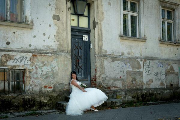 Hochzeit im August 2018, Teltow, Foto: Dirk Pagels, Teltow