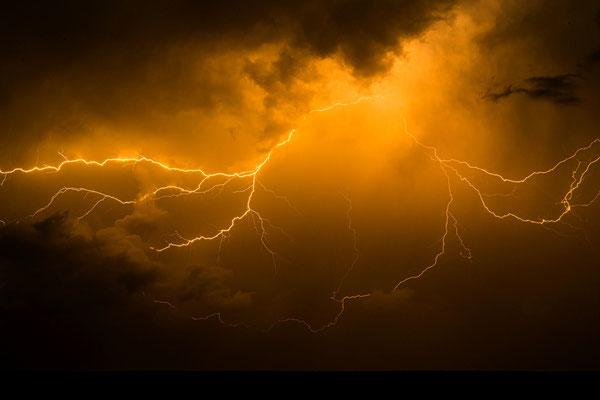 Blitz über Teltow, Foto: Dirk Pagels, Teltow