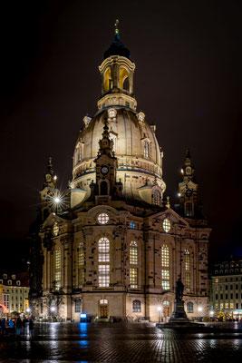 Frauenkirche Dresden im Dezember 2019, Foto: Dirk Pagels, Teltow