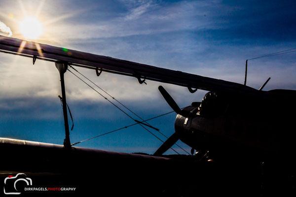 Flieger grüß mir die Sonne,  Foto: Dirk Pagels