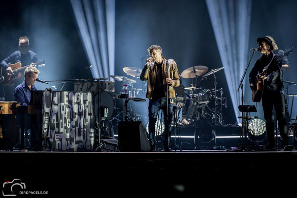 A-ha am 29.01.2018 in der Mercedes Benz Arena, Foto: Dirk Pagels, Teltow