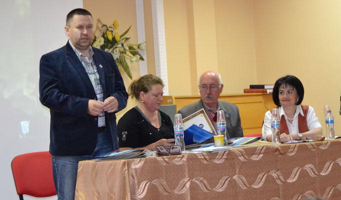 Робоча Президія конференції ЗОО НСКУ 11.06.2016р.