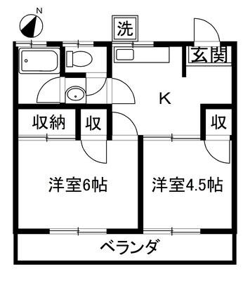 みどりコーポ (有)大阪屋不動産 三島市東本町1-15-3