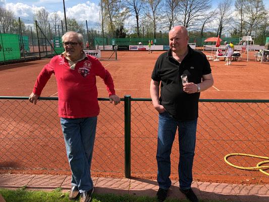 Die Mühen haben sich gelohnt - Thomas Rühs und Franz Klein