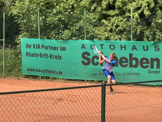 Halbfinalist der Junioren U18: Eric Boltersdorf