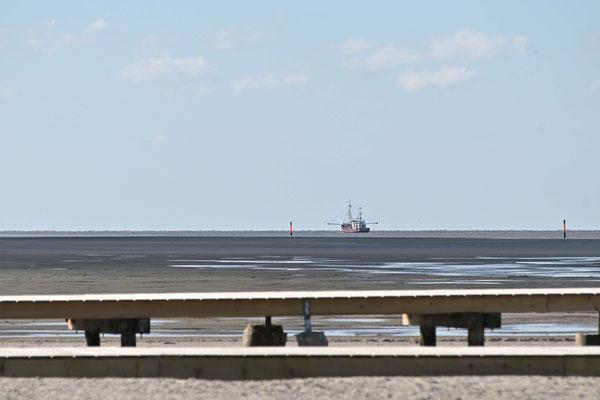 St. Peter Ording Corona Krise, Corona Virus, leerer Strand, Pandemie, März 2020, Zweitwohnung, Tourismus, Nordsee, Nordfriesland, Eiderstedt