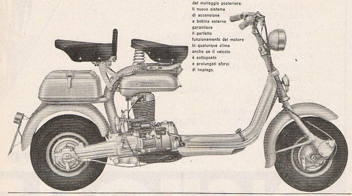 Lambretta 125 F / 1954