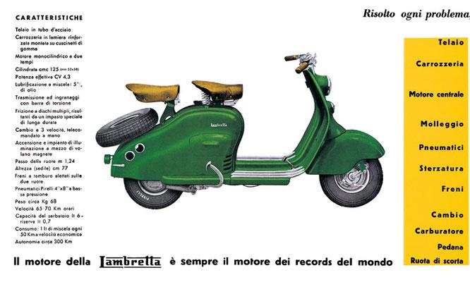 Lambretta LC / 1950-51