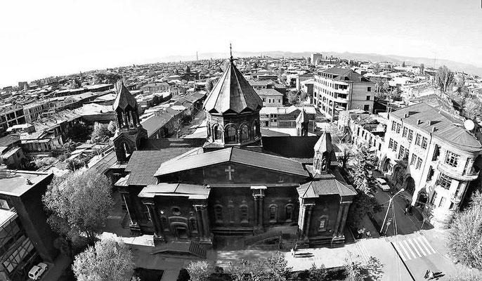 Gyumri von Oben