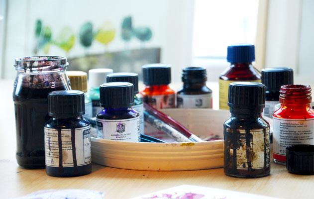 working material waterproof ink