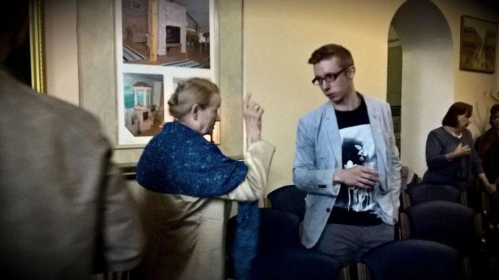 Николай Ошурков в Доме Шрёдера 8 июля 2017 г._Творческая Мастерская Анастасии Козельской