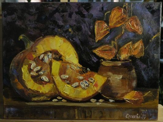 Плоды солнца. художник - Светлана Сягаева (3 000 р)
