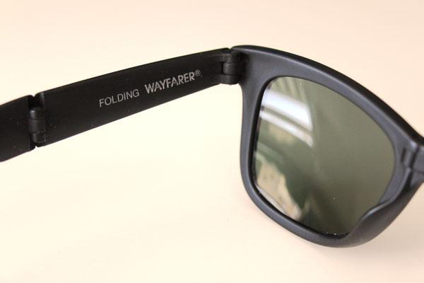 12381301835 Folding Wayfarer I G-15 - Vintage Ray Ban Sunglasses by Bausch and ...