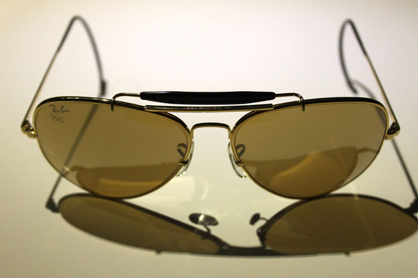 7843e040da 1992 Olympic ODM II Gold - Vintage Ray Ban Sunglasses by Bausch and Lomb