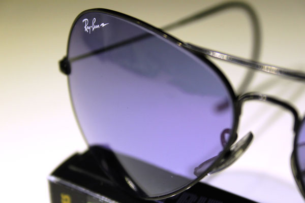 b4353858b4 Large Metal II Black Chrome - Vintage Ray Ban Sunglasses by ...