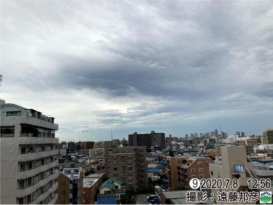 午前11時頃、この遠方、下平出町・芳賀町で、竜巻またはダウンバーストの可能性のある突風被害。