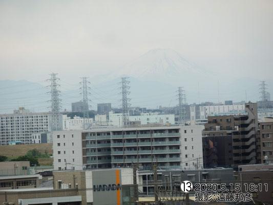 やっぱり富士山は巨大