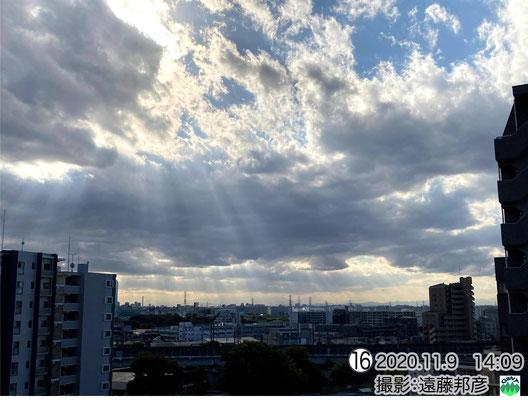 層積雲(忍者雲)
