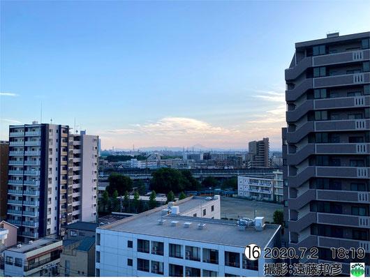 久しぶりの富士山です。