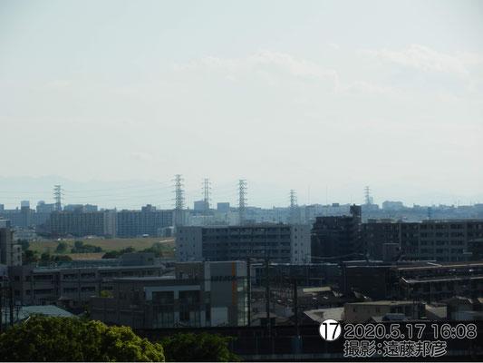 富士山は見えるんですけどね