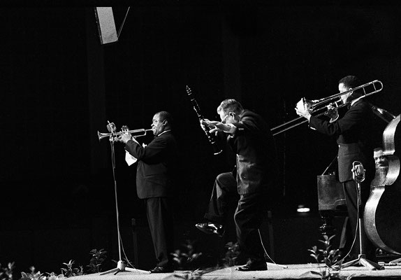 Louis Armstrong 1962 with the All Stars
