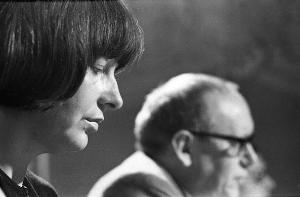 Friederike Mayröcker und Ernst Jandl bei den Profilen in St.Veit a.d.Glan
