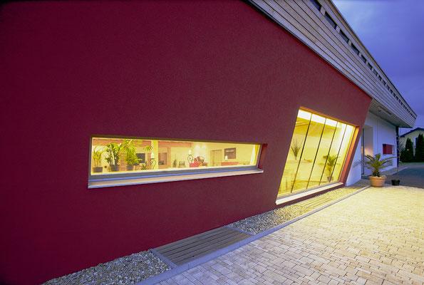 Katzbeck Fenster im Weingut Ziegler
