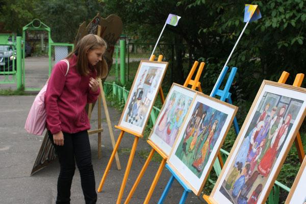 """выставка """"Все в сад"""", 1 сентября 2012 года"""