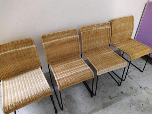 Peddigrohr Stühle restaurieren