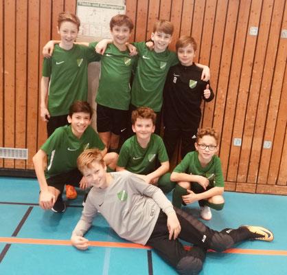 D2-Jugend, 6.Platz in Planegg